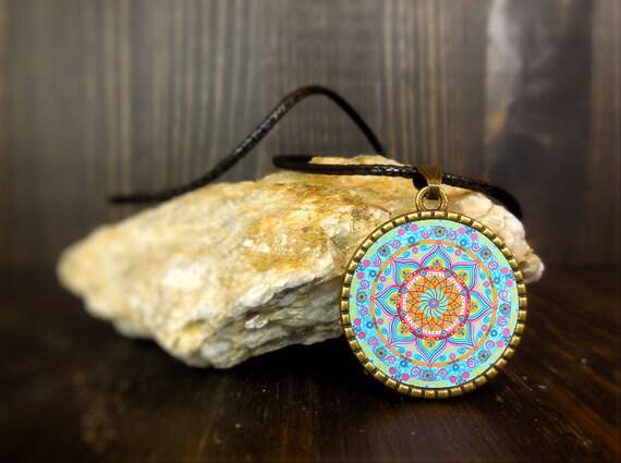 Collana Con Significato Mandala Ciondolo Simbolo Di Etsy