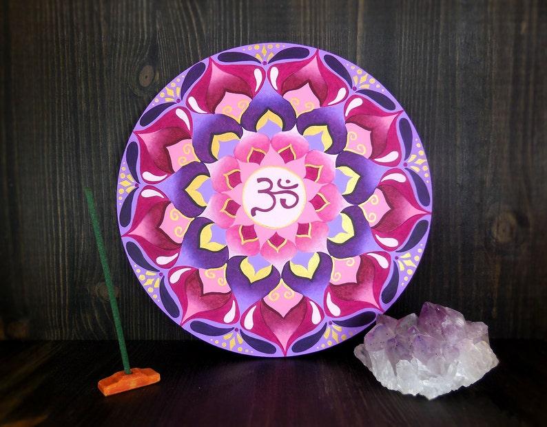 Sahasrara mandala chakra for giving the Enlightenment. The image 0