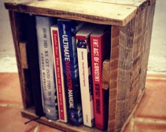 Small rustic bedside stand