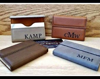 1a43986768e8d Leather business card holder