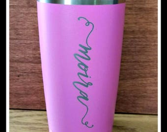 Personalized Travel Mug,  Coffee Mug, Monogrammed, Custom Groomsmen Gift, Travel Coffee Mug, Insulated Travel Cup, Tumbler, Bridesmaid Gifts