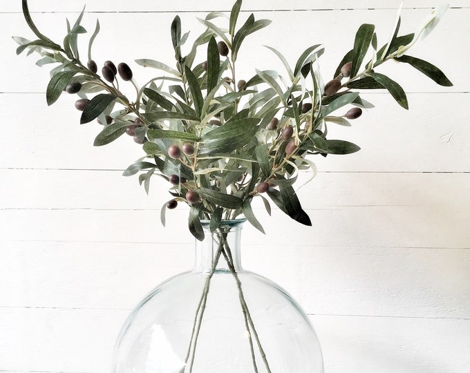 Set of Artificial Olive Stems
