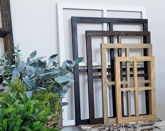 Hand-Crafted 28x22 Window Frame