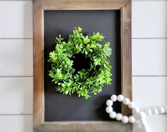 MINI Boxwood Wreath.