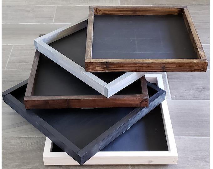 Black Board Wooden Frame.