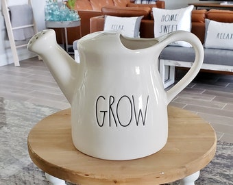 Rae Dunn Large Letter Grow Watering Can