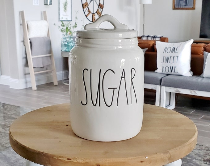 Rae Dunn Large Letter Sugar Canister