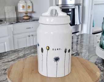 Rae Dunn Home Collection Medium  Canister