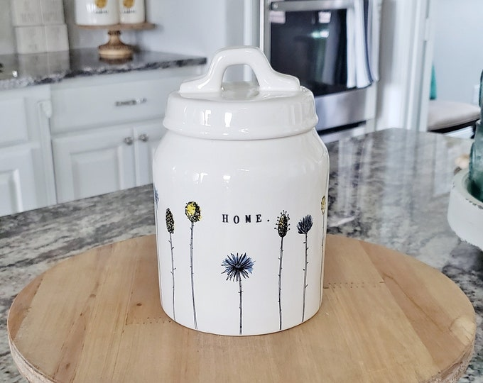Rae Dunn Home Collection Short Canister