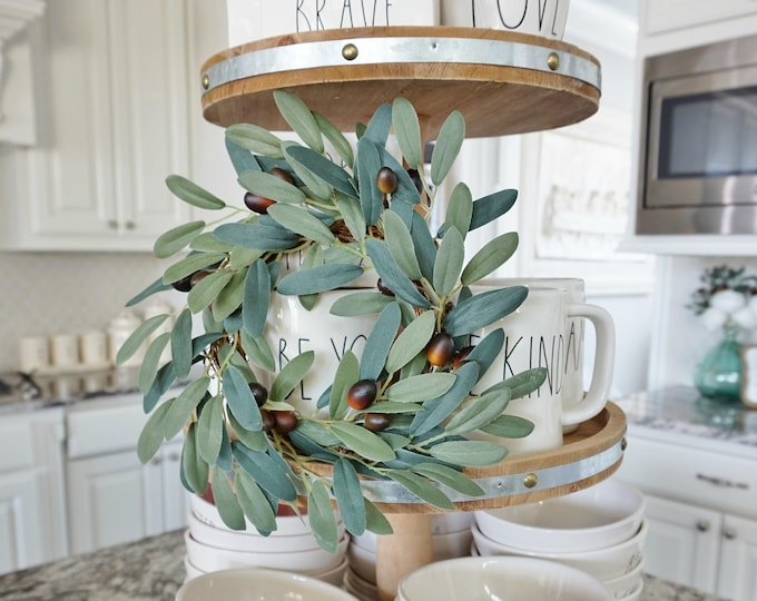 MINI Olive Grapevine Wreath.
