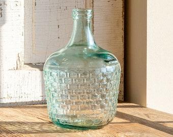 Cellar Bottle - Embossed Basket Weave.