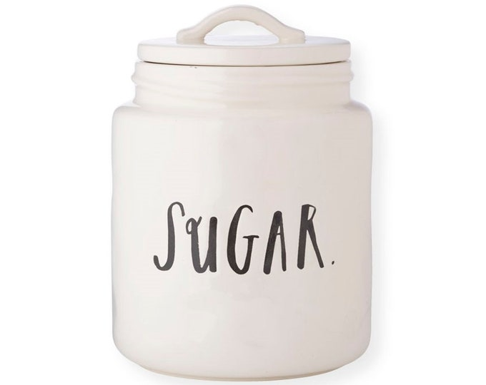 Rae Dunn Boutique:  Canister Sugar