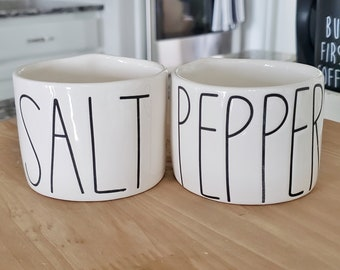 50% OFF! Rae Dunn Salt & Pepper Cellar