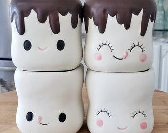 Marshmallow Mugs Set # 63