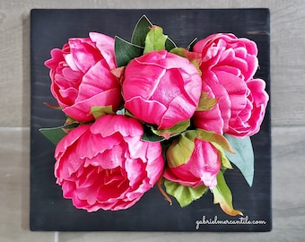 Artificial Lifelike Peonies. Real Touch Peonies. Peony. Bouquet.
