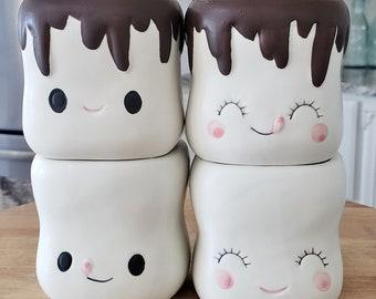 Marshmallow Mugs Set # 64