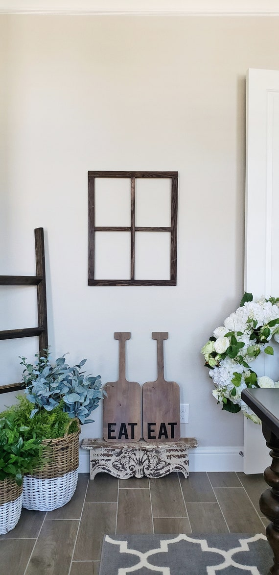 28x22 Window Frame Window Frame Wreath Rustic Window Frame Etsy