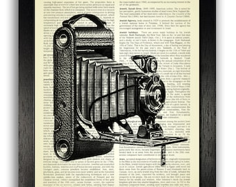 Vintage Camera Art Print, Photography Gift, Photography Art Prints, Photography Picture, Gift for Photographer, Camera Artwork, Camera Art