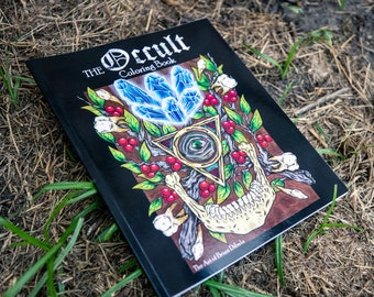 The Occult Coloring book for Adults