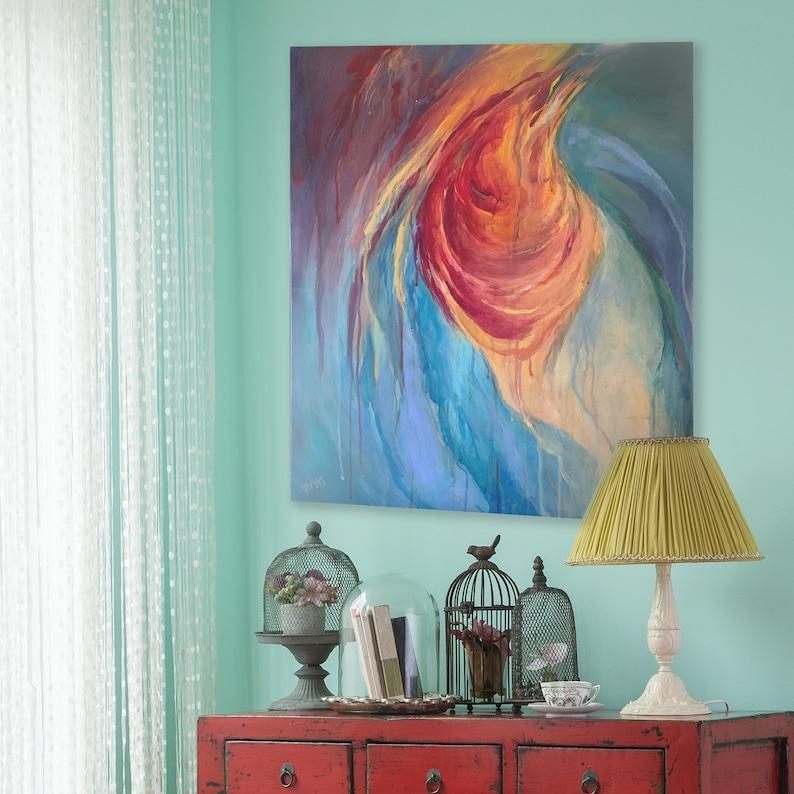 Red Sea  Original Acrylic Painting image 0