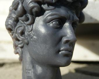 David soap - ART soap - Sculpture - Black soap - Gothic soap - Antique soap David - Michelangelo