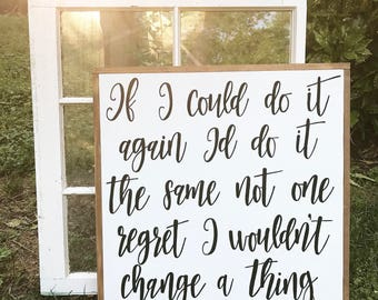 If i could do it all id do it the same not one regret i wouldnt change a thing - corey smith - bedroom decor