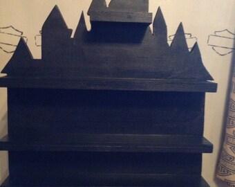 Castle display shelf.