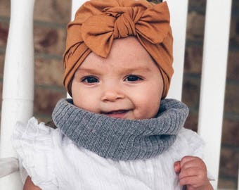 Camel   ( soft ) baby turban hat d9b77243120