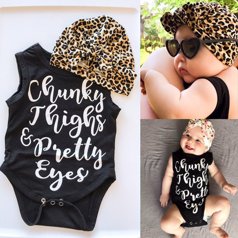 Pretty Eyes & Chunky Thighs Outfit : 2 items  Soft Cheetah image 0