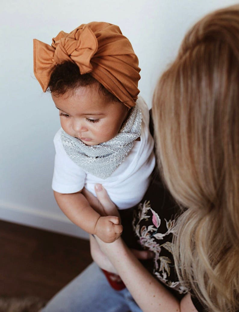 981931063fe Camel Hat  soft baby turban hat baby turban newborn hat