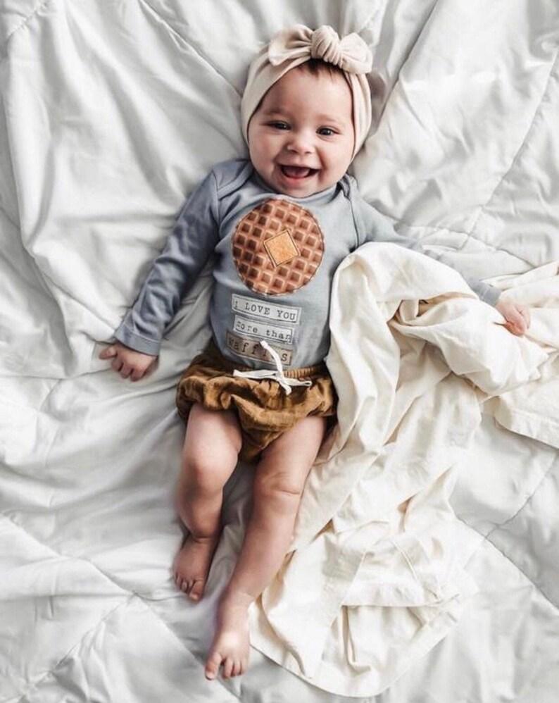 Natural: Top Knot Headband  baby headband solid tan image 0