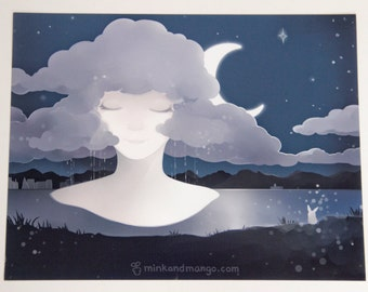 Lavender Dreams Print