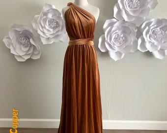 Velvet dress ,Velvet Bridesmaid Dress , velvet long infinity Dress velvet wrap dress velvet party dress Evening dress, Free Shipping
