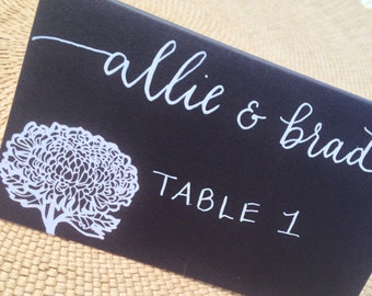 Folded Place Cards - Tented Cards 3.5x2
