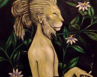 Lion Man (poster print)