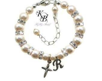 Baby Bracelet Baptism Bracelet Keepsake Baby Bracelet FREE Gift Box Christening Gift Baby Jewelry Christening Bracelet Baby Shower Gift