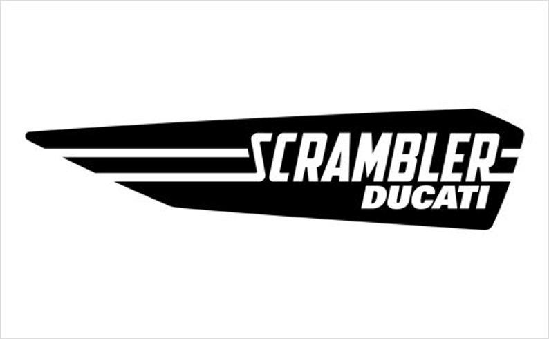 Ducati Scrambler Sticker Decal