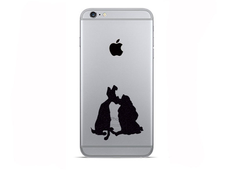 Lady and the Tramp iPhone 8 Decals iPhone X Plus Stickers  14274dd5a1