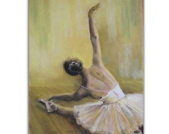 photo by Erwin Blumenfeld Ballet Dancer Ballerina New York 1946 AU7 Postcard
