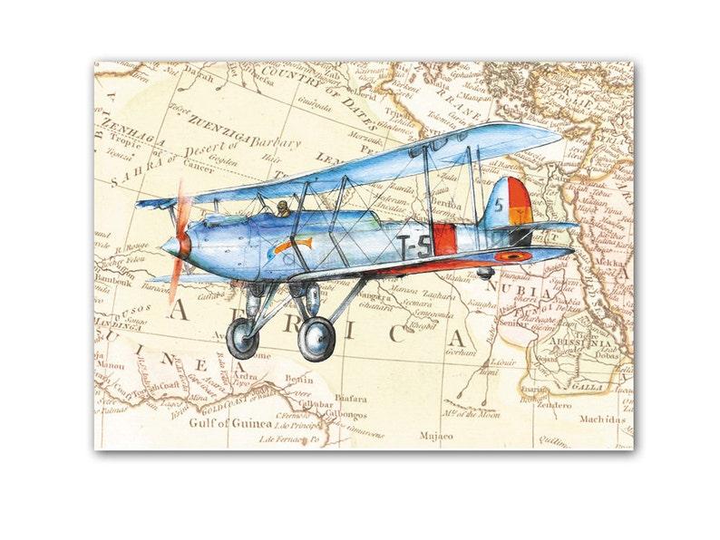 Днем, старинные открытки с самолетами