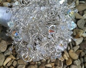 Bouquet - Silver Wire and Crystal.  Keepsake Bouquet.  Allergy Free Bouquet
