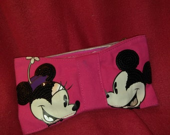 Mickey and Minnie Wallet - 9 inches long