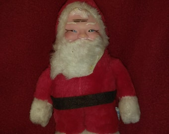 Vintage Santa Doll - 9 inches tall