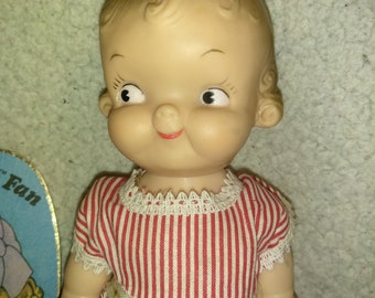 Vintage Campbells Doll - Is about 10 inches tall
