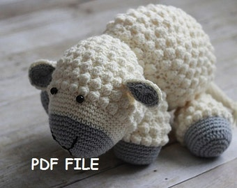 Crochet Lamb Pattern Etsy