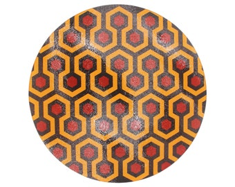 The Shining: The Overlook Hotel Carpet Glass Cutting Board
