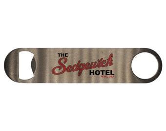 Ghostbusters: The Sedgewick Hotel Bar Blade Bottle Opener