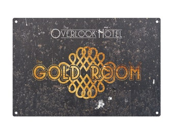 The Shining: The Gold Room Metal Sign
