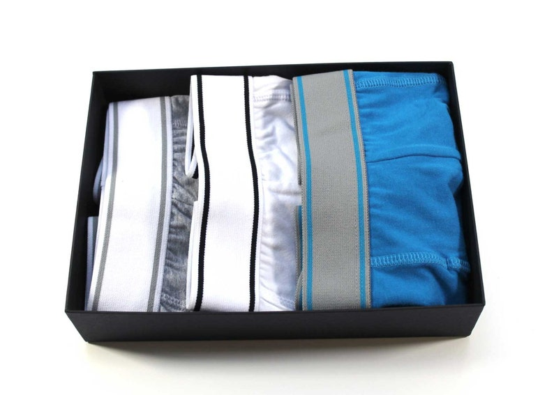 Various Icons Boxer Briefs 3 Pair Gift Set JAWS