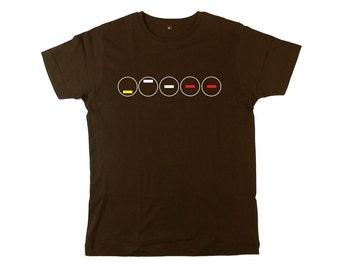 Close Encounters Of The Third Kind: 5 Circles 5 Tones Movie T Shirt